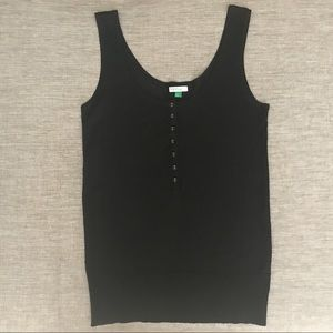 United Colors of Benetton Silk Tank Top